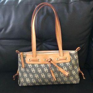 Dooney Bourke Tassel Zip Top Shoulder Bag